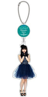 "Masaki Sato Solo Acrylic Key Chain [Morning Musume. '19 Dinner Show ""Happy Night""] / Morning Musume.'19"
