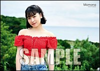 "Kasahara Momona (ANGERME) ""First Visual Photo Book: Momona"" B2 Poster [C] /"