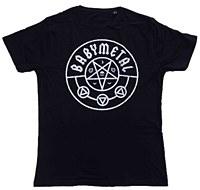 Official Band T-shirt: PENTAGRAM / BABYMETAL